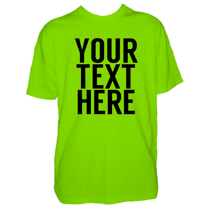 Mens custom text t shirt for Photo t shirts with text