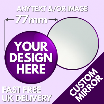 custom mirror 77mm