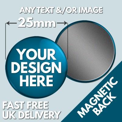25mm Custom Fridge Magnets