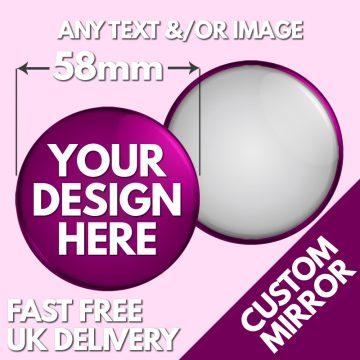 58mm Pocket Mirrors