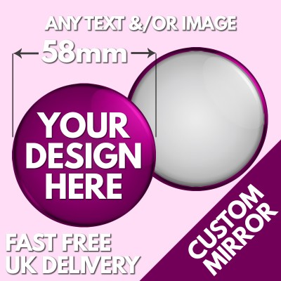 58mm Pocket Mirrors