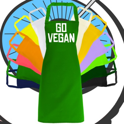 Adults Go Vegan Apron