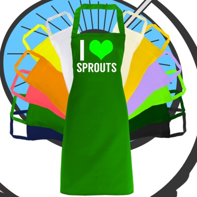 Adults I Love Sprouts Apron