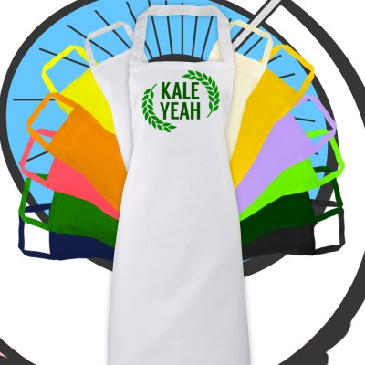 Adults Kale Yeah Apron