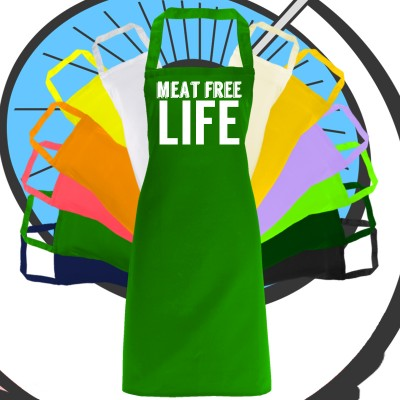 Adults Meat Free Life Apron