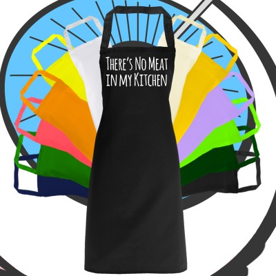 Adults Meat Free Kitchen Apron