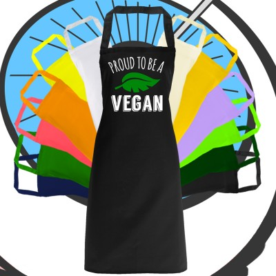 Adults Proud To Be A Vegan Apron