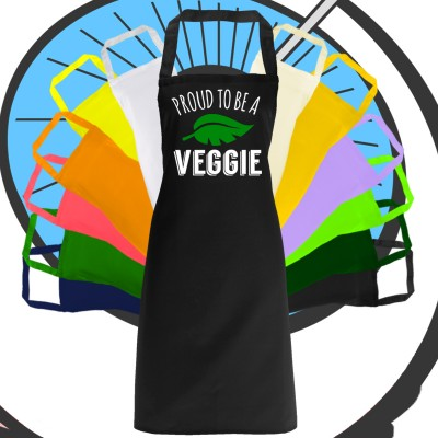Adults Proud To Be A Veggie Apron
