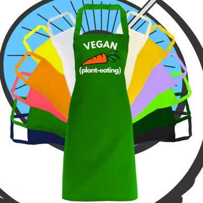 Adults Vegan Plant Eater Apron