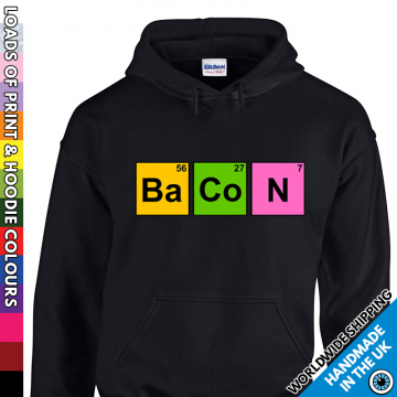 Adults Bacon Hoodie