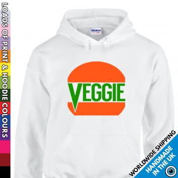 Adults Veggie Burger Hoodie