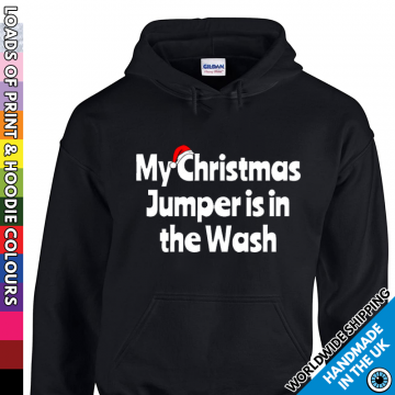 Adults Christmas In The Wash Hoodie