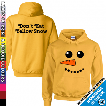 Adults Don't Eat Yellow Snow Hoodie