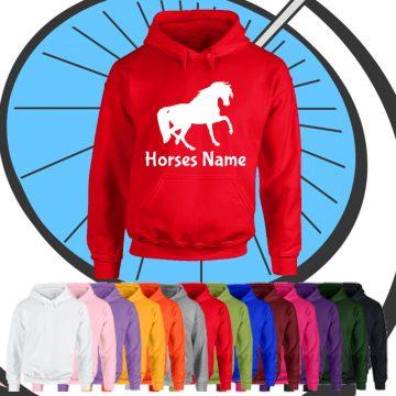 Adults Custom Horse Hoodie