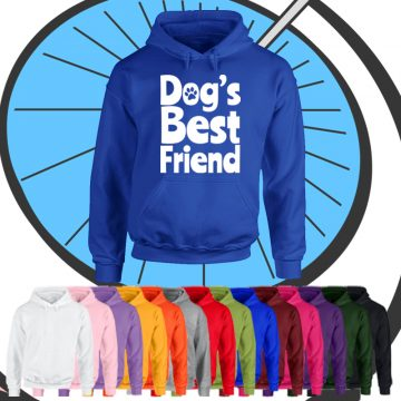 Adults Dogs Best Friend Hoodie