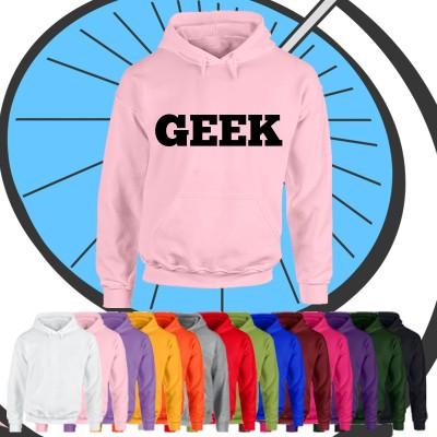 Adults Geek Hoodie