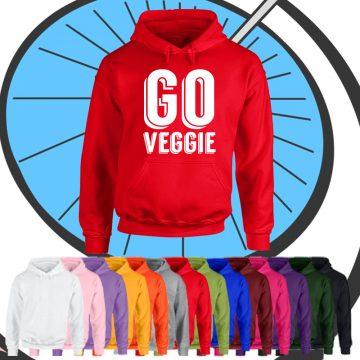 Adult Go Veggie Hoodie