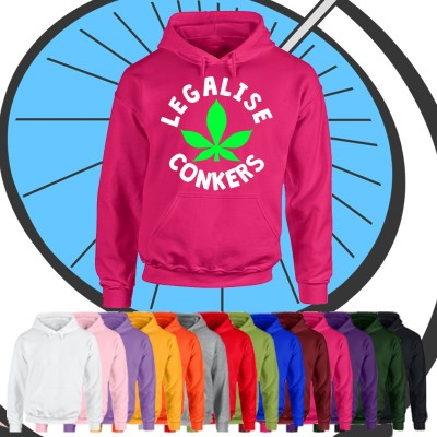 Adults Legalise Conkers Hoodie