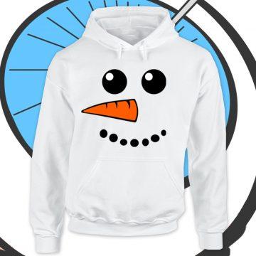 Adults Snowman Hoodie