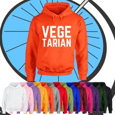 Adults Vegetarian Hoodie