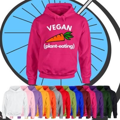 Adults Vegan Plant Eater Hoodie
