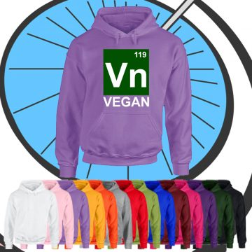 Adults Vegan Science Hoodie