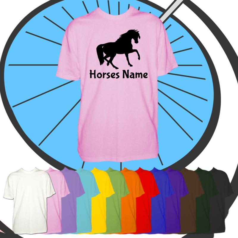 Kids Custom Horse T Shirt