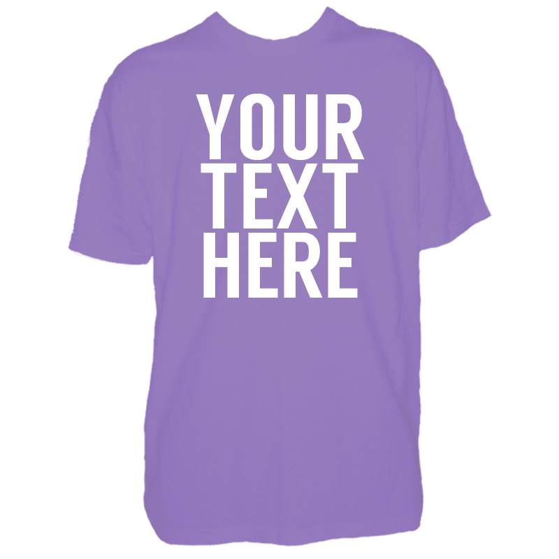 Kids custom text t shirt for Photo t shirts with text