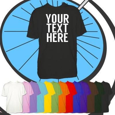 Kids Custom Text T Shirt