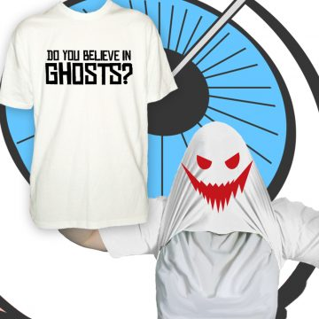 Kids Do You Believe In Ghosts T Shirt
