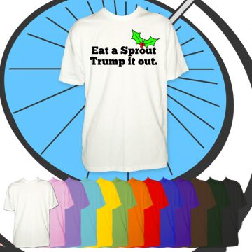 Kids Eat A Sprout Trump It Out T Shirt