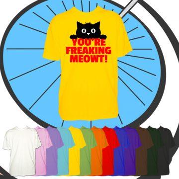 Kids Freaking Meowt T Shirt