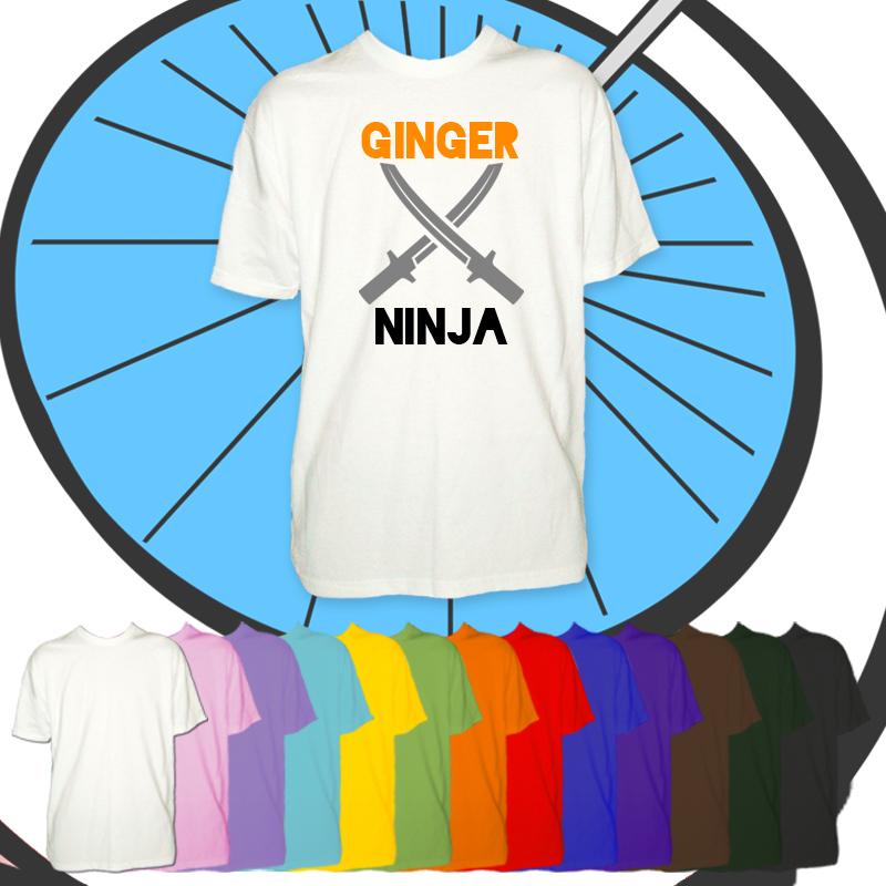 Kids Ginger Ninja T Shirt