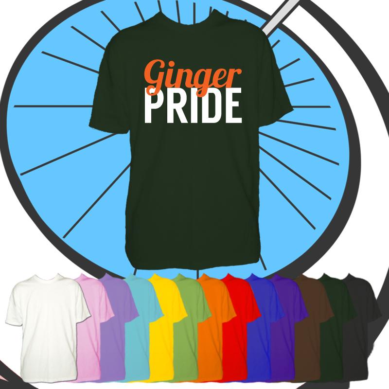 Kids Ginger Pride T Shirt