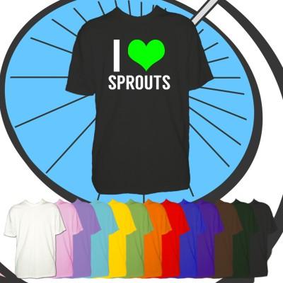 Kids I Love Sprouts T Shirt