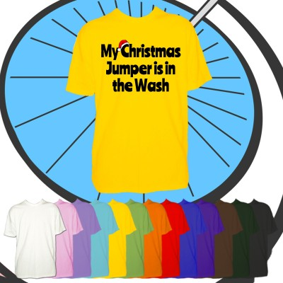 Kids Christmas In The Wash T Shirt