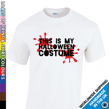 Kids This Is My Halloween Costume T Shirt