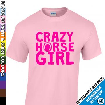 Kids Crazy Horse Girl T Shirt