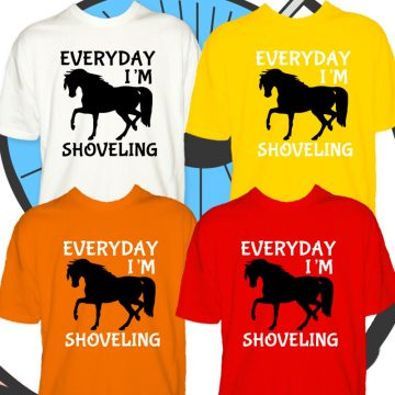 Kids Everyday I'm Shoveling T Shirt
