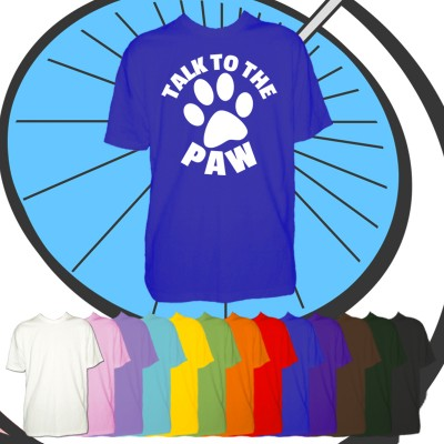 Kids Talk To The Paw T Shirt
