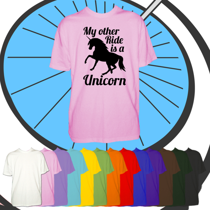 Kids My Other Ride Is A Unicorn T Shirt