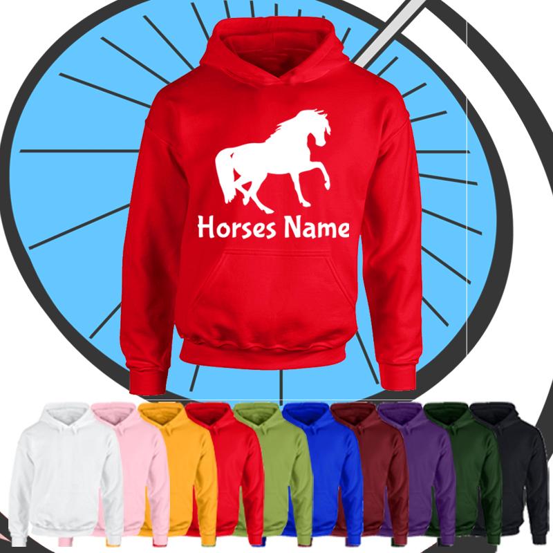 Kids Custom Horse Hoodie