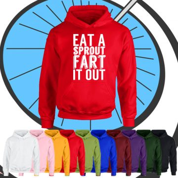 Kids Fart It Out Hoodie