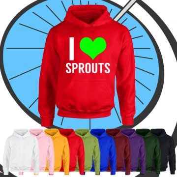 Kids I Love Sprouts Hoodie