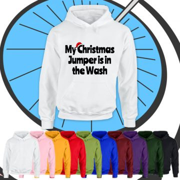 Kids Christmas In The Wash Hoodie