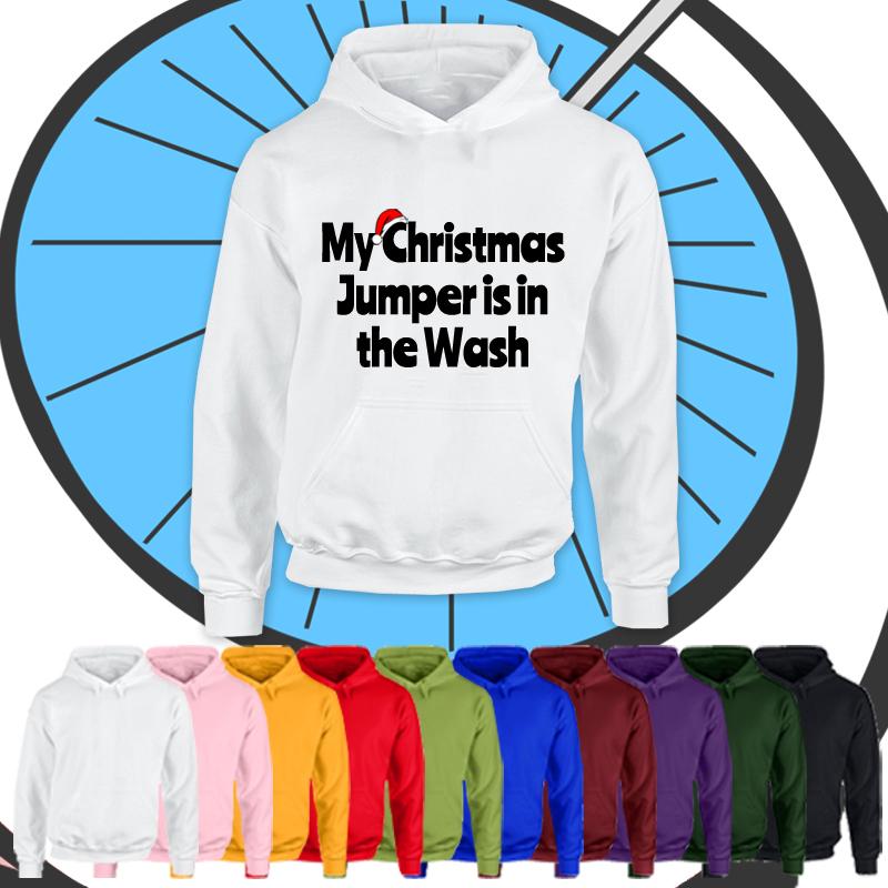 Kids Christmas In The Wash Hoodie