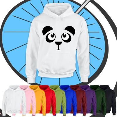 Kids Panda Face Hoodie