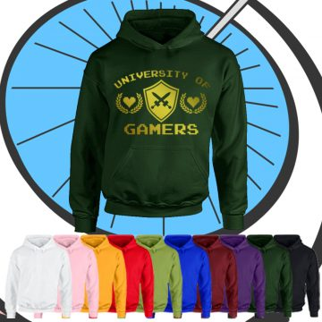 Kids University Of Gamers Hoodie