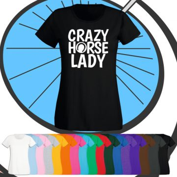 Ladies Crazy Horse Lady T Shirt