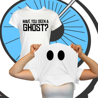 Ladies Have You Seen A Ghost? T Shirt